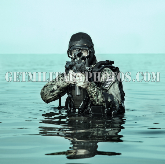 Navy SEAL frogman