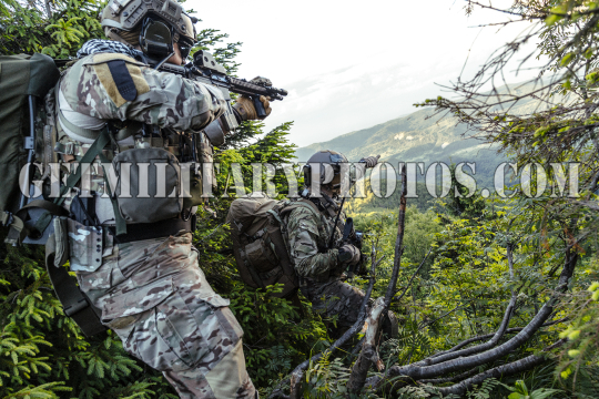 rangers in the mountains
