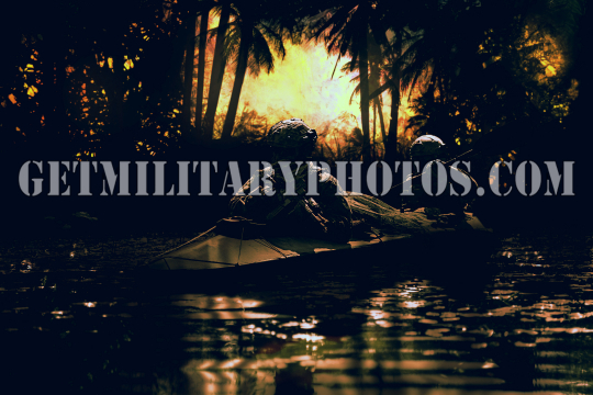 special forces operators in the army kayak