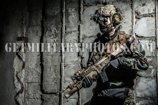 Army Ranger in field Uniforms