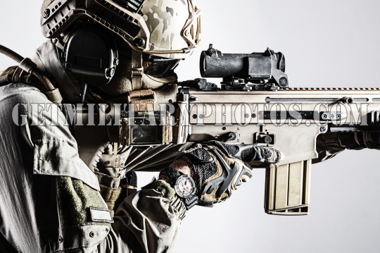 Army soldier of Special Operations Forces