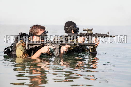 Navy SEAL frogmen