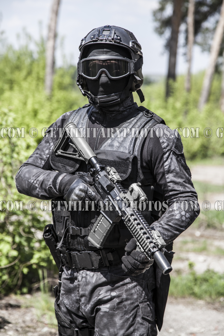 Spec Ops Police Officer Swat S W A T And Police