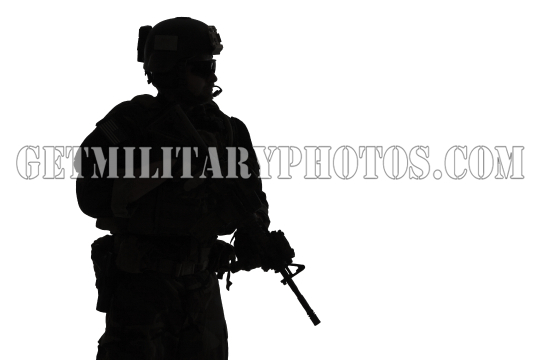 Marine Special Operator silhouette