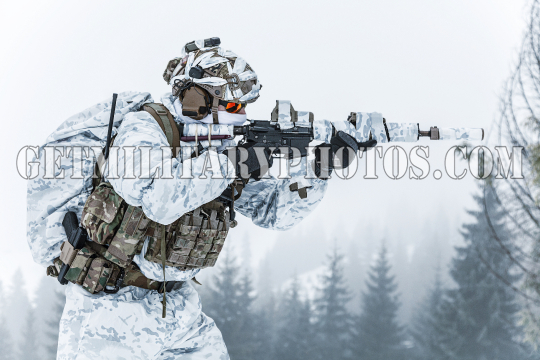 Winter arctic warfare