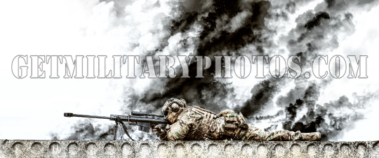 Sniper on the roof